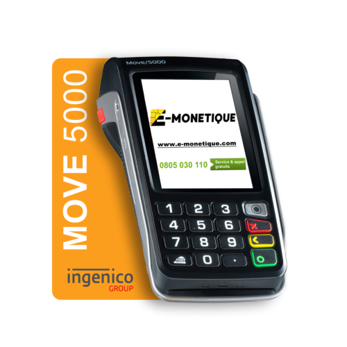 tpe ingenico move 5000