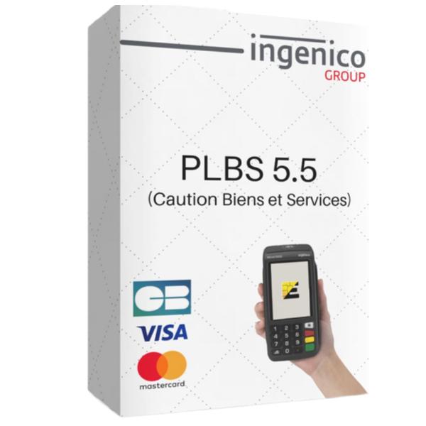 logiciel tpe ingenico PLBS paiement de biens et services