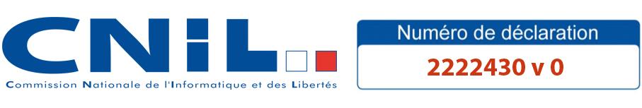 information de déclaration CNIL